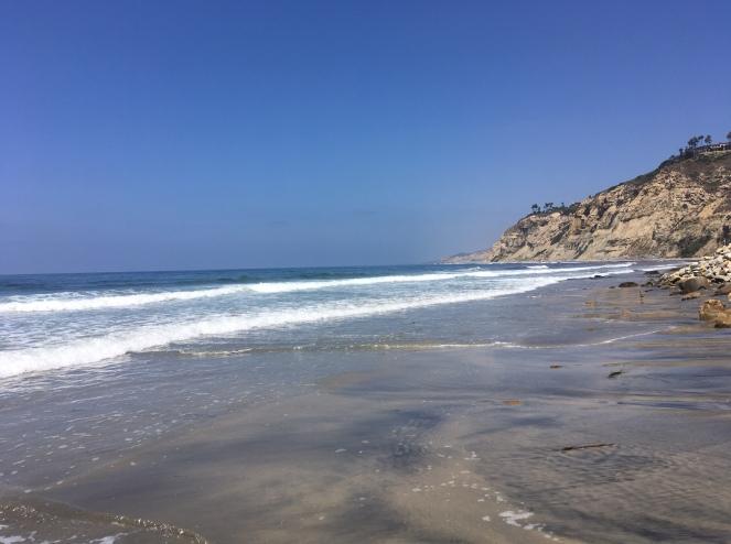 And a run on the beach...