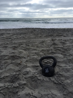 Fitting in a kettle bell workout