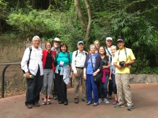 Microsporidia researchers and companions at the zoo