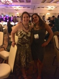 Colleen Burge and I at the Goodbye Banquet! This chic is a Rockstar!